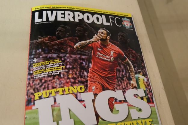 In LFC's in house magazine.