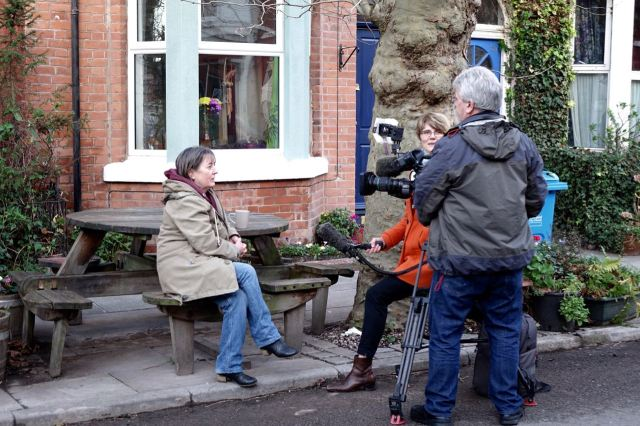 Here Theresa McDermott of the Community Land Trust talks with BBC North West.