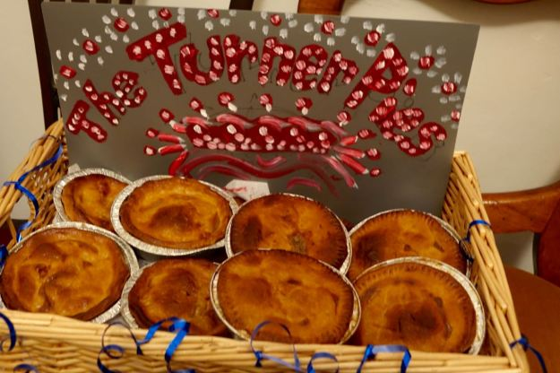 The Turner Pies arrived early.