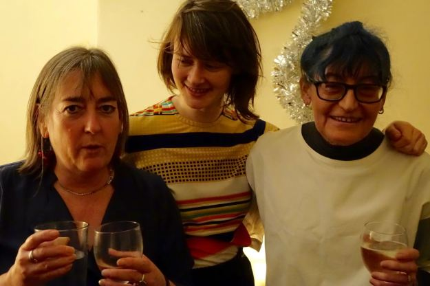 Fran from Assemble with Theresa and Hazel from Granby 4 Streets.