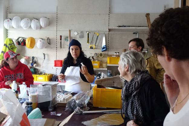 Including the wonderful work that's been taking place at the Granby Workshop.