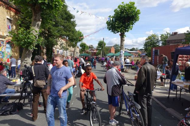 The Market's been freat this year since its move onto Ducie Street.