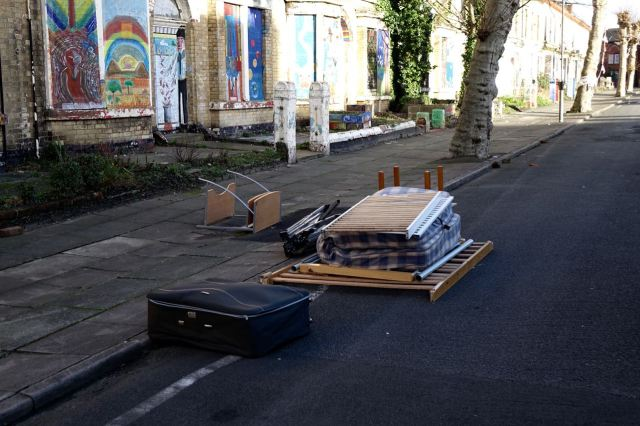 Thanks for the fly tipping. I suppose you're going to come and take it away whoever you are?
