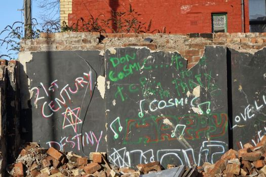 For now we're left with this newly exposed piece of cosmic graffiti.