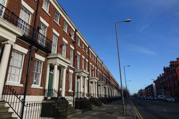 Across to Upper Parliament Street.