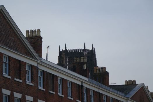 Also benignly overlooked by the Cathedral.