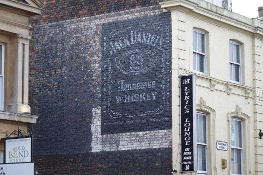 A false ghost sign over the top of a real one?