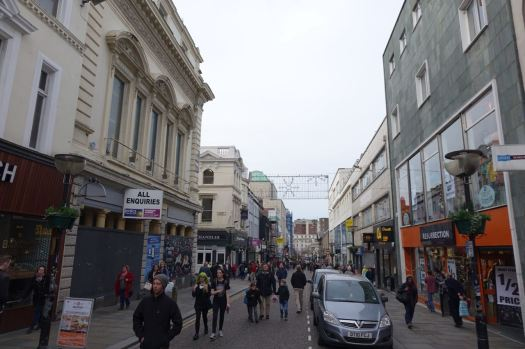 But once I get to the pedestrianised bit?