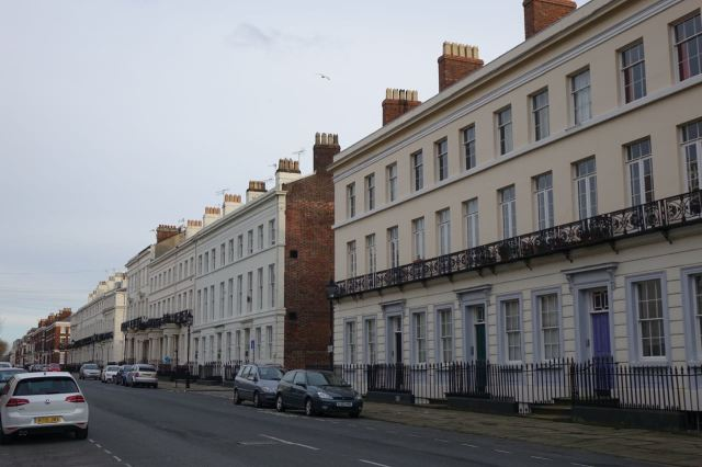 And Cathedral Mansions Co-op at the end of Huskisson Street.