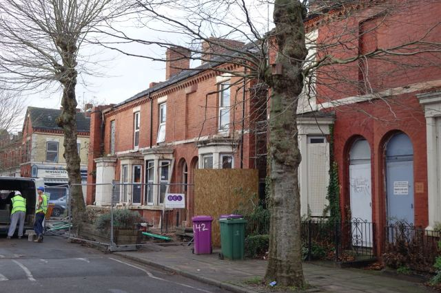 To you this might look like some empty houses being restored. To all of us it looks like a party.