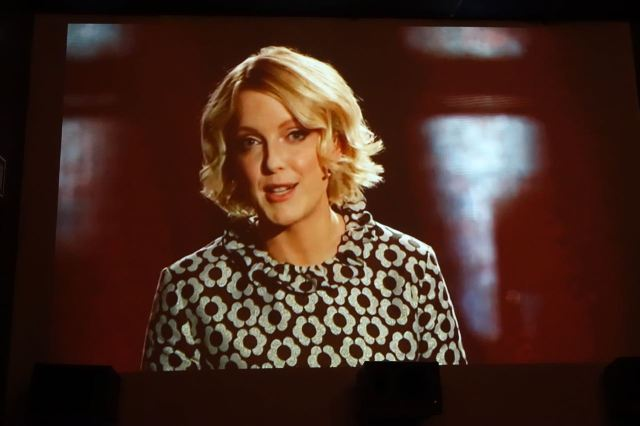 Lauren Laverne gets it all going.