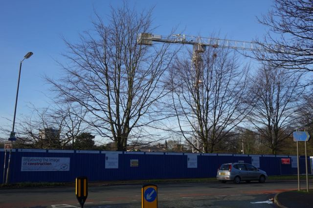 Currently in the middle of a new 'student village' development by Liverpool University.