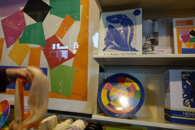 And obviously there's lots of Matisse themed stuff to buy in the shop.