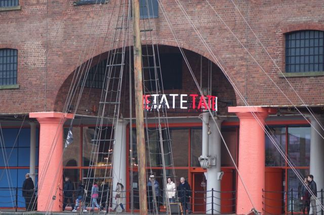 We're here specifically to go to the Tate.