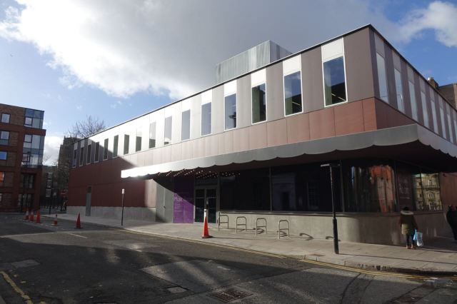 Next the new Music Room at the rear of the Philharmonic Hall.