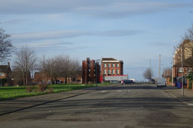 And turn into this part of Great Mersey Street.