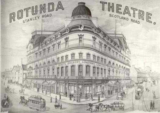 A memory of The Rotunda Theatre.