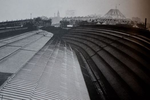 Standing on the roof of Lime Street in 1964, watching the Catholic Cathedral being built.