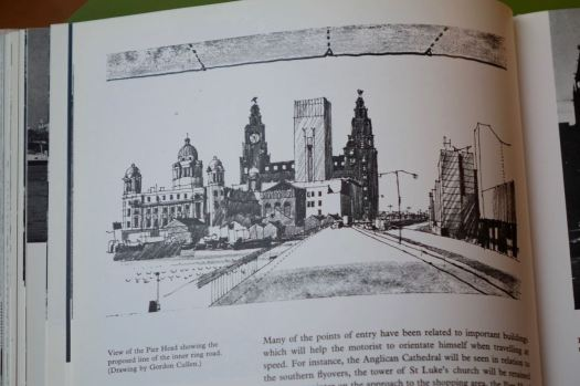 Here from the Shankland Plan, the long resisted inner ring road that's still being steadily built.