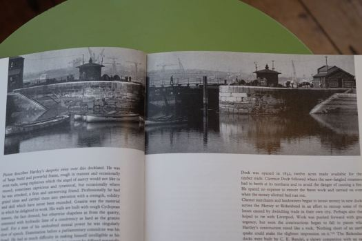 Some though narrowly escaped their planned destruction. Brunswick Dock here.