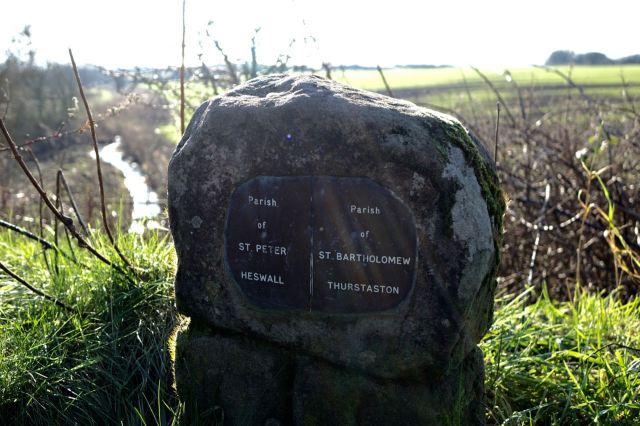 A lovely parish boundary post.