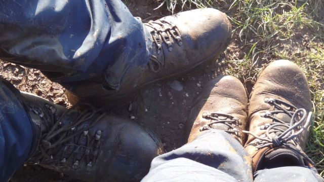 The boots did well though. Four dry feet.