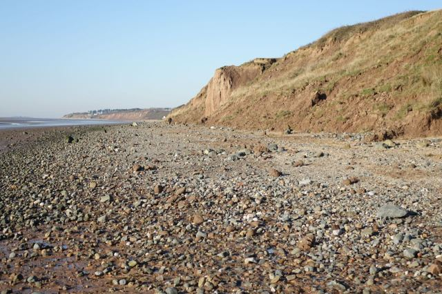 Particularly about these boulder clay cliffs.