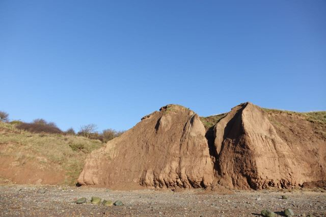 The bits that still look like cliffs are exceptional now.