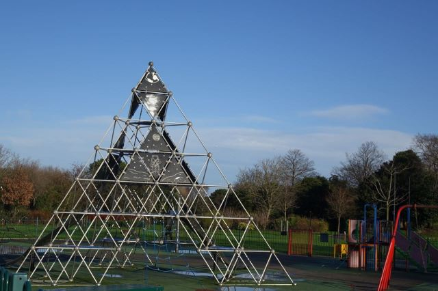Though I wish we'd had this climbing frame then.
