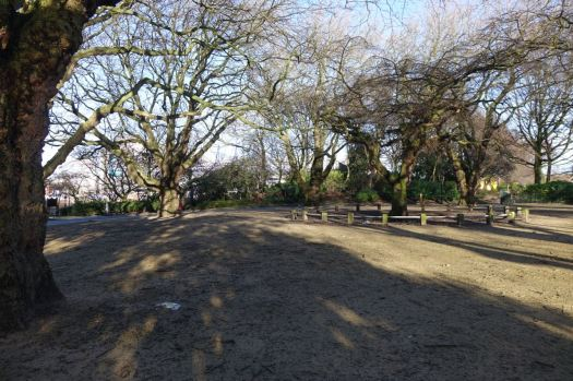 Areas crying out for imaginative planting and absent picnic benches.