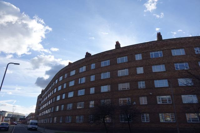 St Andrew's Gardens. Liverpool's grandest surviving municipal tenement block.
