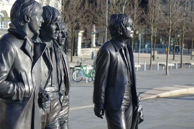 The new statues.