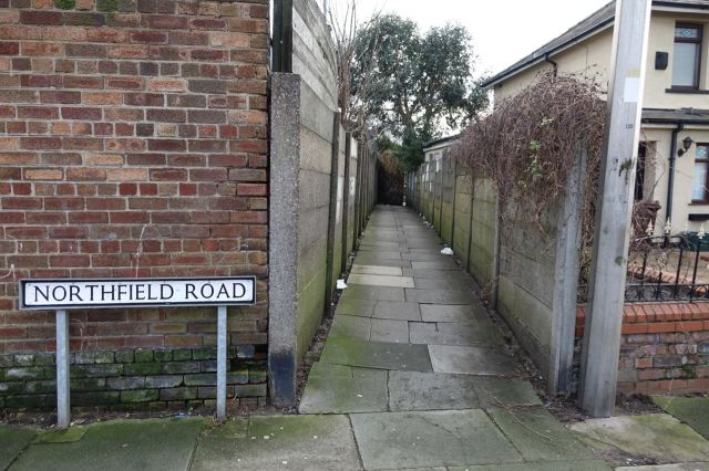 Then I turn down an alley I certainly haven't walked along since 1970.