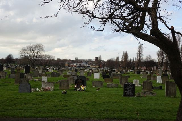 Elizabeth Gerrard was buried just up the road here in Bootle Cemetery when she died in 1970.