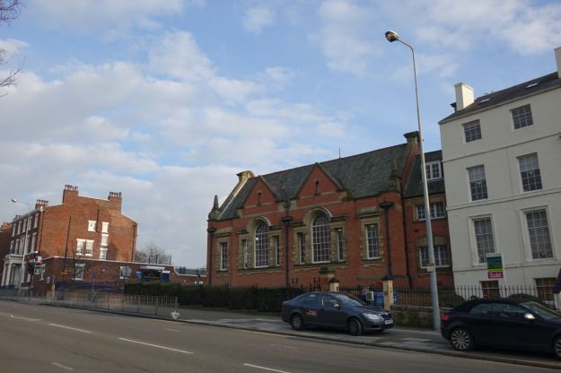 Anyway, Toxteth Library. So we're now in Liverpool 8 any way you want to consider it.