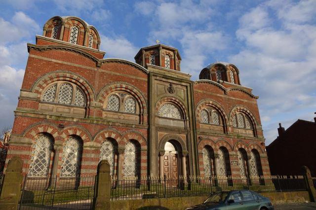 The Greek Orthodox Church of St Nicholas, sparkling.