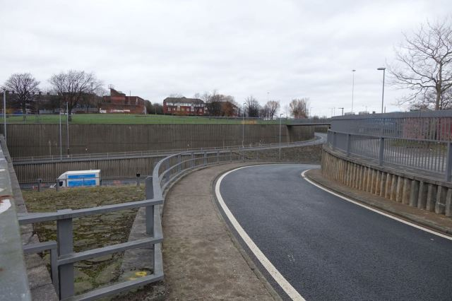 In casual conversation the other day I called this 'The new tunnel' and was given a very strange look.