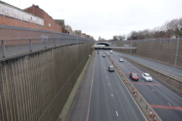 By someone not born until long after this second Mersey Tunnel got built in 1973.