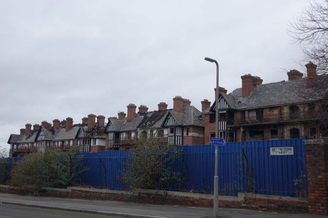 Still lived in and visited by me when I started my first housing job round here in 1972.