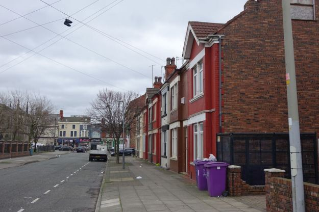 Up Sylvester Street. More houses as old as Eldon Grove doing perfectly well.
