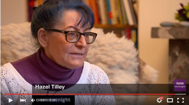 Then Hazel id interviewed on national TV.