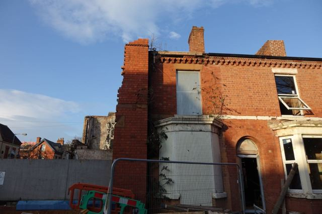 And the decision to demolish is reluctantly taken.
