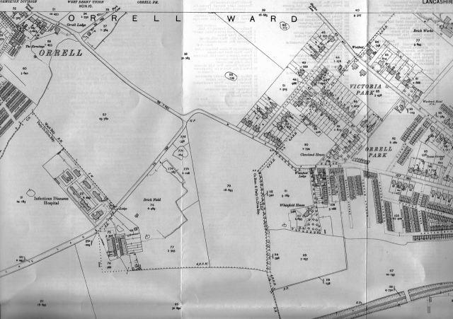 Orrell Park in 1907
