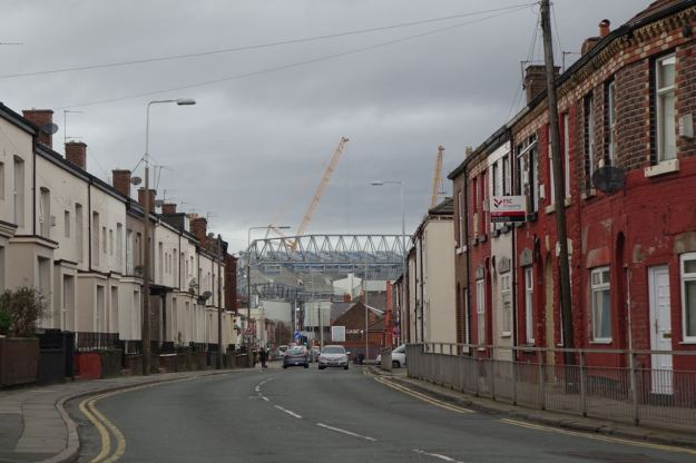 Getting off where Everton meets Anfield.