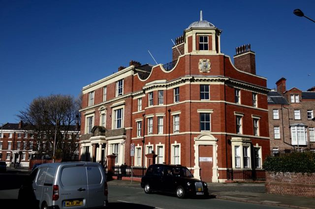 And what I always think of as Florence Nightingale House.