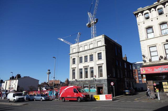 Leece Street Post Office and the Roscoe Head.
