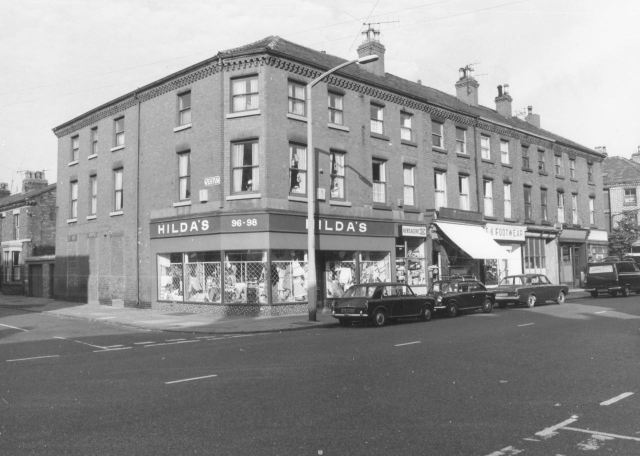 Corner of Eversley Street.