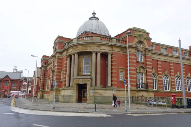 Our venue for this is this gorgeous Carnegie Library.