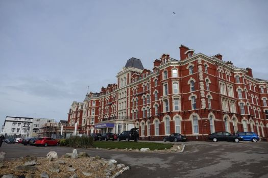 My friendly customers have put me up here. The grand and quintessentially Blackpool 'Imperial'