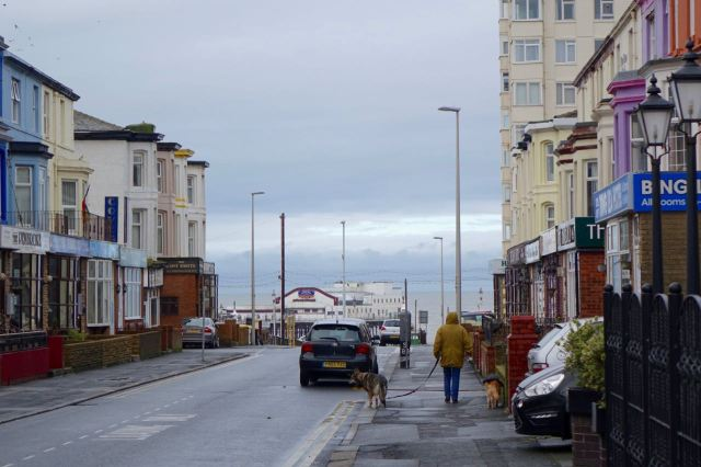 Not walking along the sea front today, already finding my way around some other interesting roads.